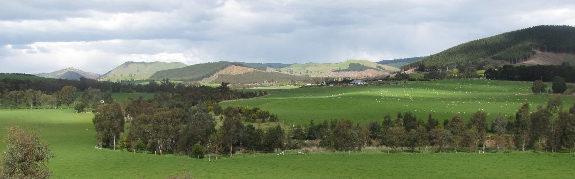 Upper Goulburn Panorama wide