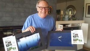 Ken Foletta with his winning photos