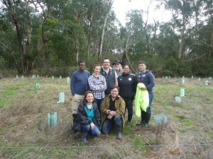 ANZ volunteers at Glenburn