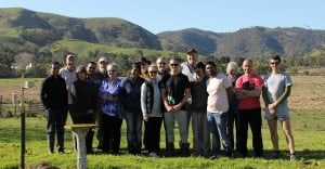 Strath Creek Landcare members and NAB volunteers