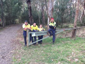 Green Army team at Yea Wetlands