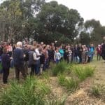 Opening of Homewood Station picnic site
